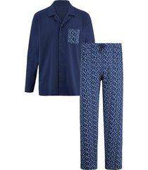 pyjama babista marine/lichtblauw