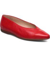 a-9901 ballerinaskor ballerinas röd wonders