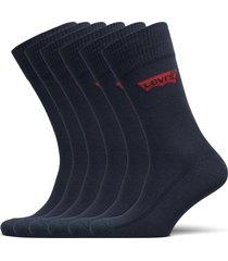 levis regular cut batwing logo 6p e underwear socks regular socks blå levi´s