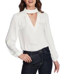 1.state mock v-neck blouse
