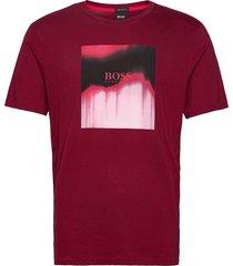 tiris 1 t-shirts short-sleeved röd boss