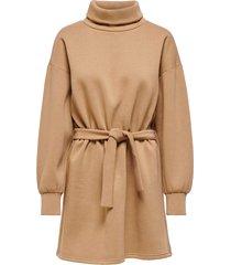 sweatshirtklänning onlkylie l/s highneck belt dress