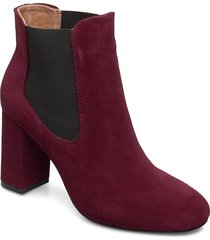 maddie chelsea s shoes boots ankle boots ankle boot - heel röd shoe the bear
