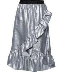 joy knälång kjol silver kenzo