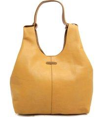 bolso amarillo tannino