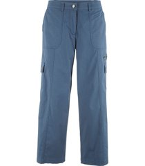 pantaloni 7/8 gamba larga (blu) - bpc bonprix collection