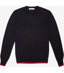 bally logo sweater blue 58