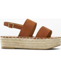 sandali con plateau (marrone) - bpc bonprix collection