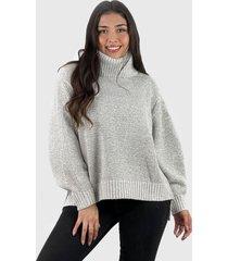 sweater beatle lana mujer boho blanco enigmática boutique