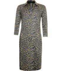 poools leopard geprinte jurk 913151