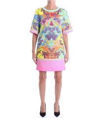 korte jurk versace d2hza407 s0857