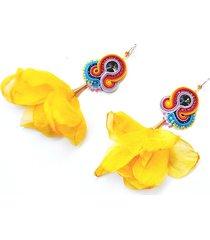 sutaszowe kolczyki z kwiatami bo-kaap1