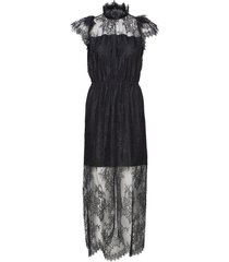 melissa long dress maxiklänning festklänning svart designers, remix