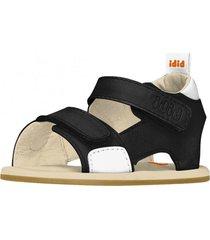 sandalia casual negro bibi