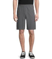 spyder men's drawstring bermuda shorts - charcoal - size m