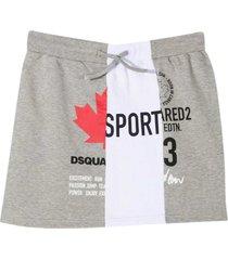 dsquared2 gray skirt