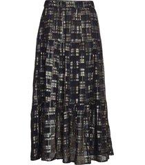 bonny skirt knälång kjol multi/mönstrad lollys laundry