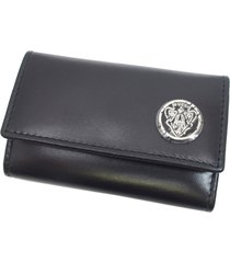cartier leather key holder black sz: