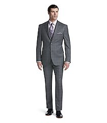 reserve collection tailored fit plaid men's suit clearance by jos. a. bank
