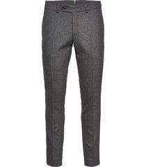 rodney flannel trouser kostuumbroek formele broek grijs morris