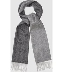 reiss austin - wool cashmere blend scarf in grey, mens