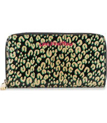 louis vuitton 2011 pre-owned leopard print wallet - multicolour