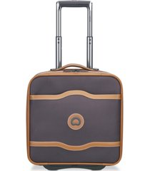 delsey chatelet plus wheeled under-seat carry-on suitcase
