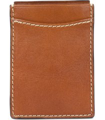 patricia nash men's leather money clip credit card case