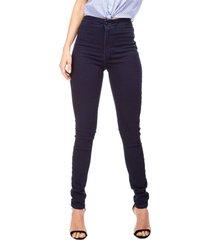 calça jeans guess jegging escura