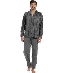 heren pyjama robson 27202-704-6-3xl/58