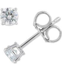 certified diamond stud earrings (5/8 ct. t.w.) in 14k white or yellow gold