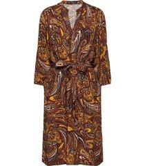 dress short 3/4 sleeve kort klänning multi/mönstrad betty barclay