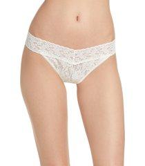 women's hanky panky original rise thong, size one size - white