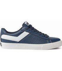 zapatilla azul pony top star ox mini relax