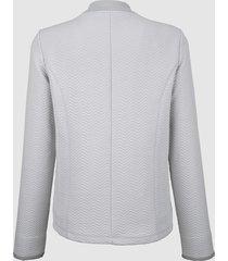 elegant jacka i sweatshirtmaterial dress in ljusgrå