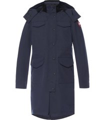'reid' long hooded jacket