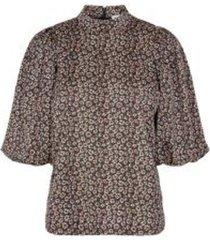 fox flower blouse