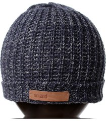 gorro azul no end