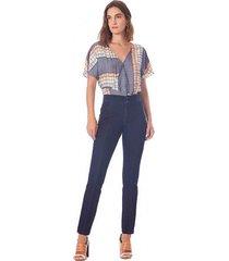 calca maria valentina jegging m. isis cos intermediario detalhe elastico jeans