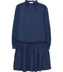 kari dresses jeans dresses blå closed