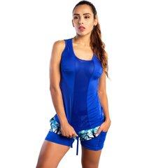 camiseta atletica azul rey mia f-7807