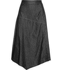 gonna di jeans a portafoglio (nero) - bpc selection