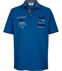poloshirt roger kent royal blue