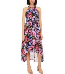 inc floral halter maxi dress, created for macy's