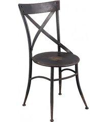 krzesło metalowe 2 szt. loft factory