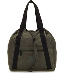mochila art backpack s verde kipling