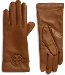 women's tory burch miller leather gloves