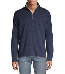 elliot half-zip cotton sweater