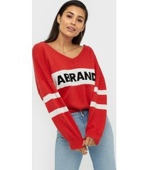 abrand jeans a oversized knitted jumper stickade tröjor