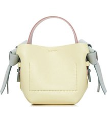 multicolored musubi shoulder handbag